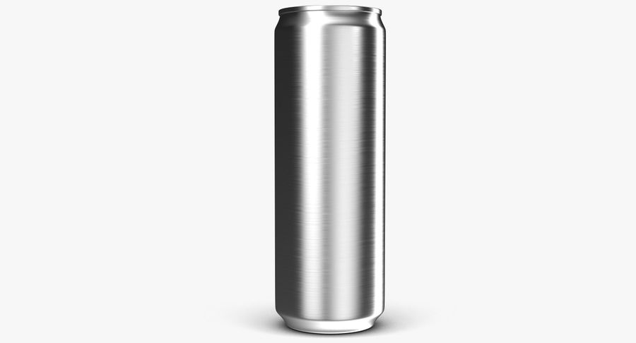 Beverage Can 0.35 L royalty-free 3d model - Preview no. 7