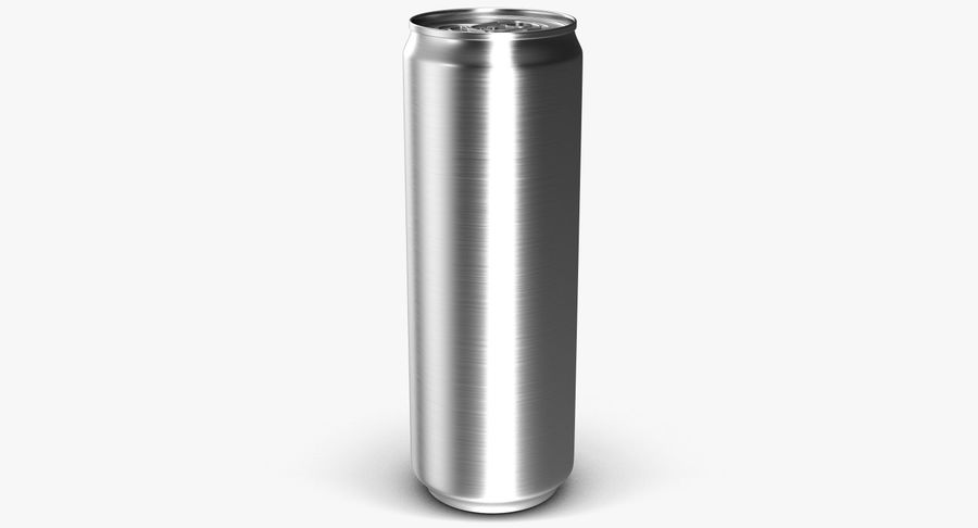 Beverage Can 0.35 L royalty-free 3d model - Preview no. 4