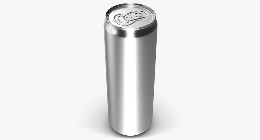 Beverage Can 0.35 L royalty-free 3d model - Preview no. 2