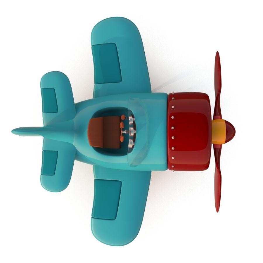 Aeroplano stilizzato dei cartoni animati modello 3d $29 .unknown