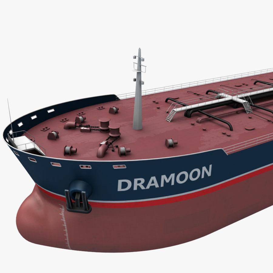 oil ship tanker royalty-free 3d model - Preview no. 3
