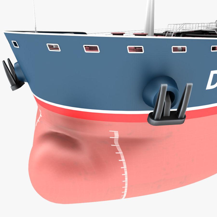 oil ship tanker royalty-free 3d model - Preview no. 16