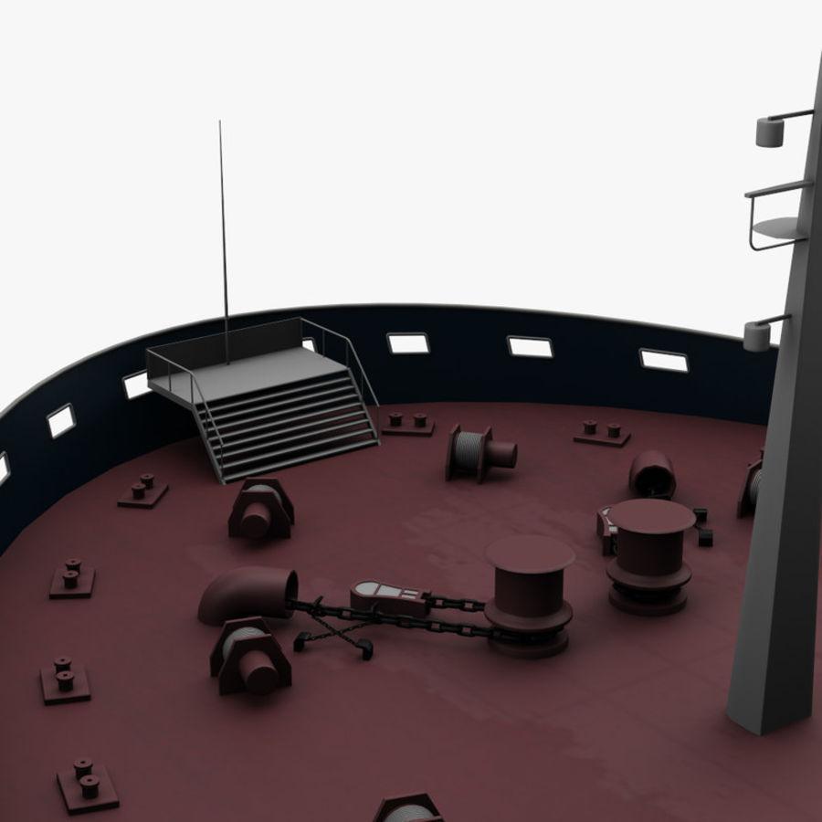 oil ship tanker royalty-free 3d model - Preview no. 15