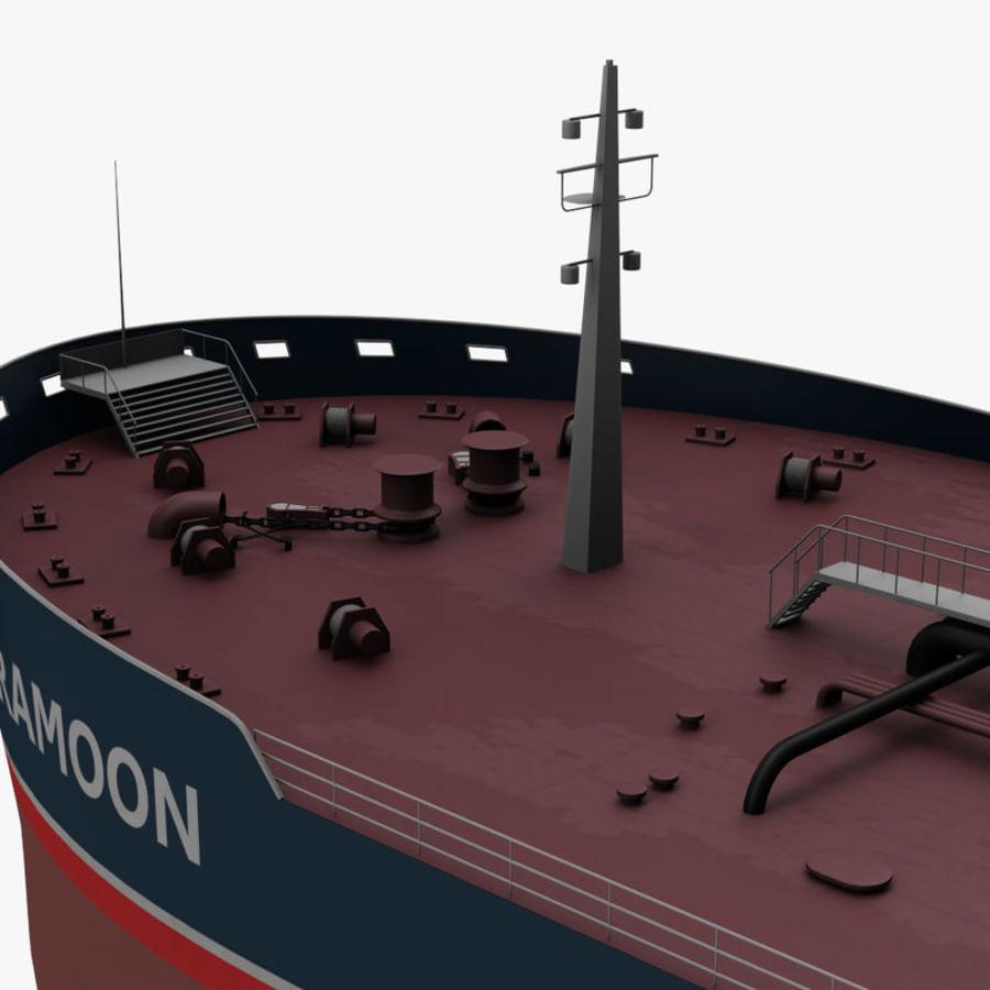 oil ship tanker royalty-free 3d model - Preview no. 14