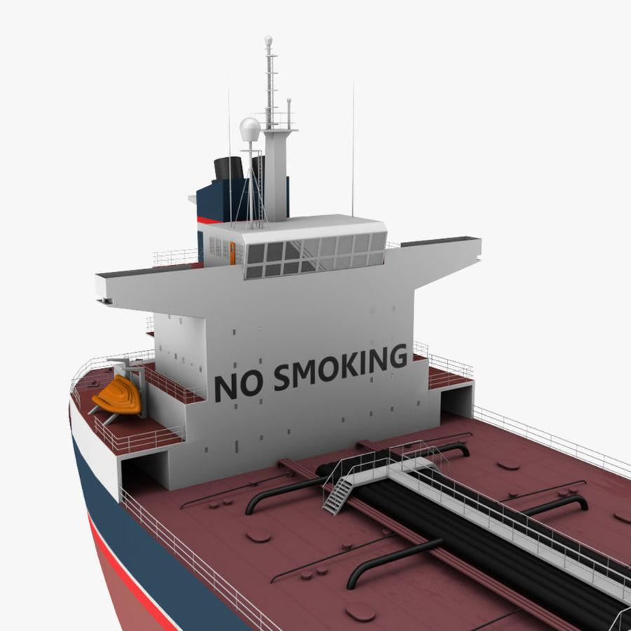 oil ship tanker royalty-free 3d model - Preview no. 8
