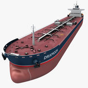 oil ship tanker 3d model