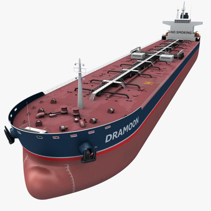 oil ship tanker royalty-free 3d model - Preview no. 1