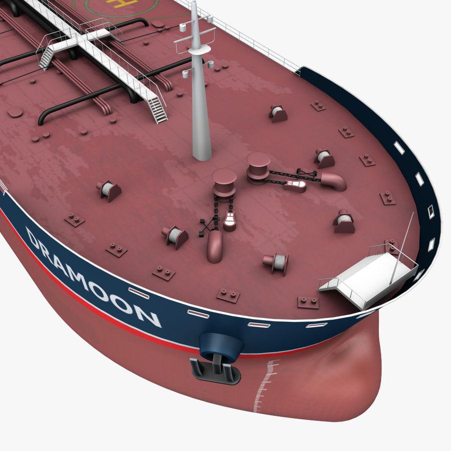 oil ship tanker royalty-free 3d model - Preview no. 5