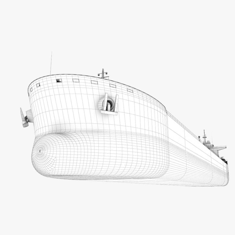 oil ship tanker royalty-free 3d model - Preview no. 22
