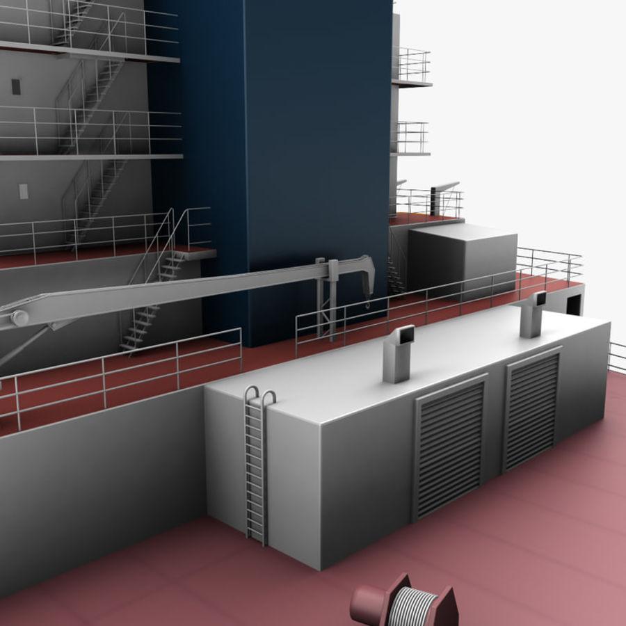 oil ship tanker royalty-free 3d model - Preview no. 10