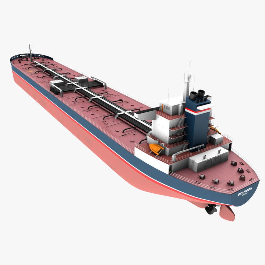 oil ship tanker royalty-free 3d model - Preview no. 2