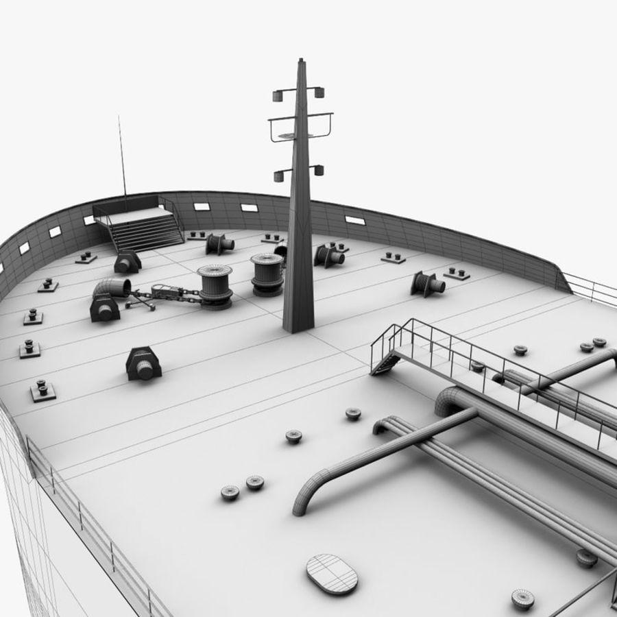 oil ship tanker royalty-free 3d model - Preview no. 21