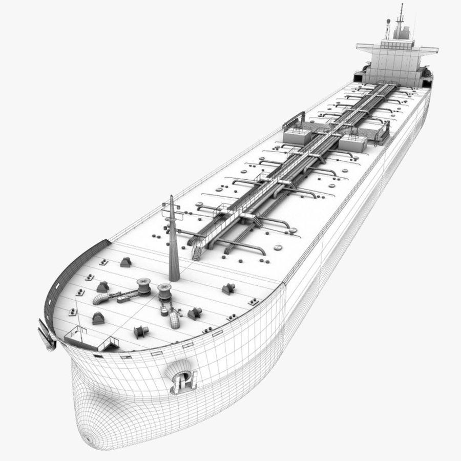 oil ship tanker royalty-free 3d model - Preview no. 18