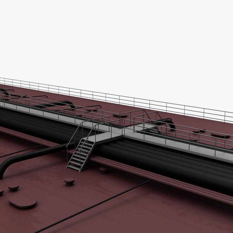 oil ship tanker royalty-free 3d model - Preview no. 12