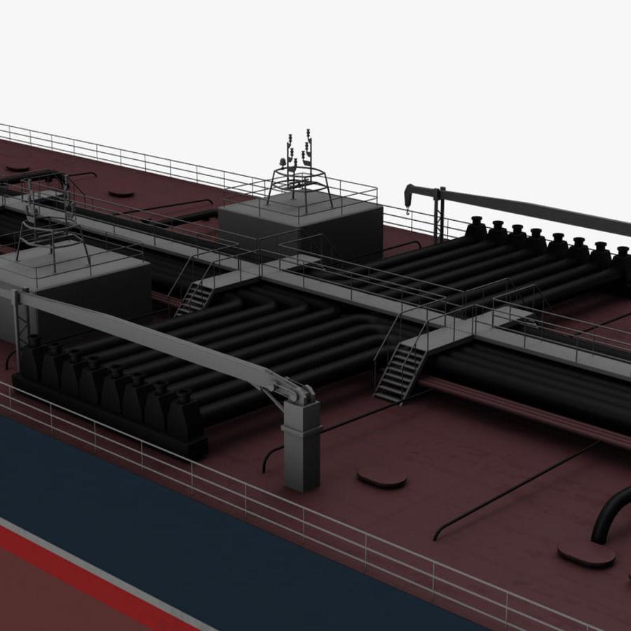 oil ship tanker royalty-free 3d model - Preview no. 13