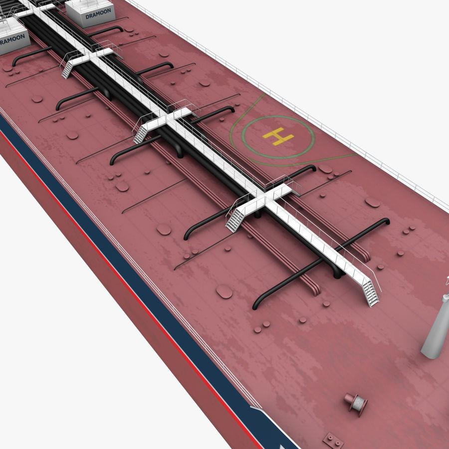 oil ship tanker royalty-free 3d model - Preview no. 6
