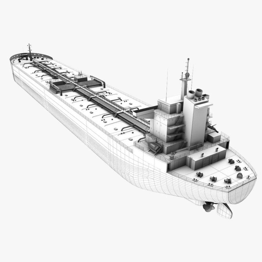 oil ship tanker royalty-free 3d model - Preview no. 19
