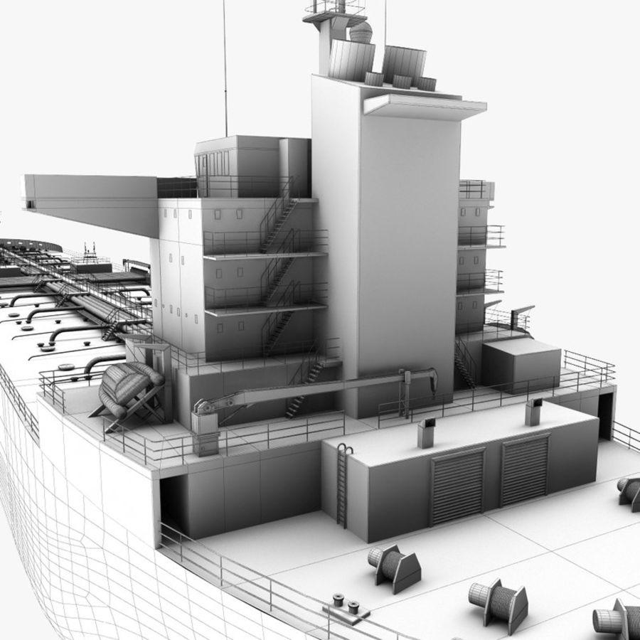 oil ship tanker royalty-free 3d model - Preview no. 20
