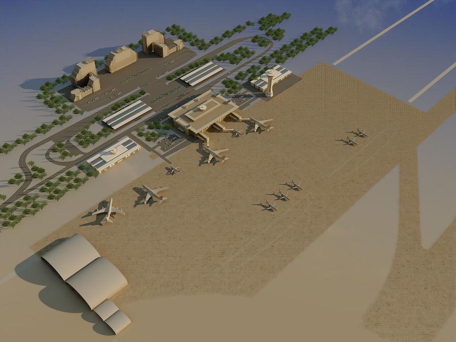 Aeroporto (1) royalty-free 3d model - Preview no. 17