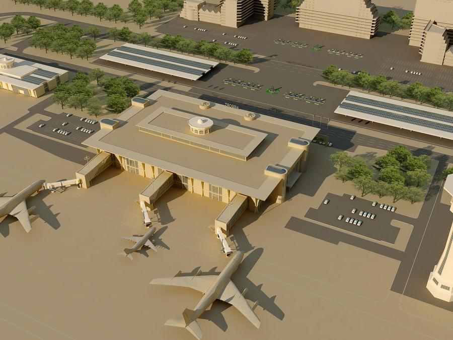 Aeroporto (1) royalty-free 3d model - Preview no. 5