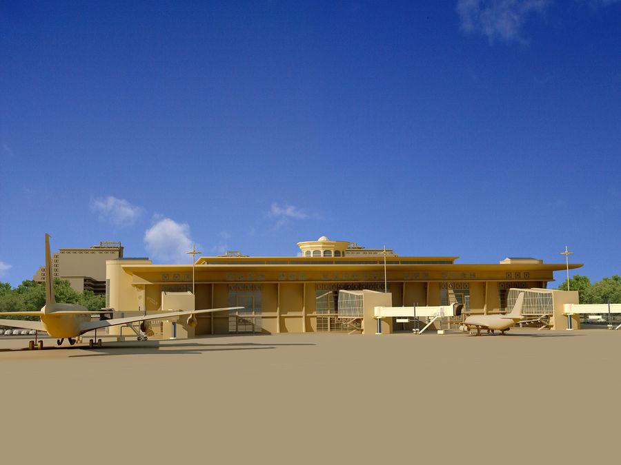 Aeroporto (1) royalty-free 3d model - Preview no. 2