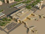 Airport(1) 3d model