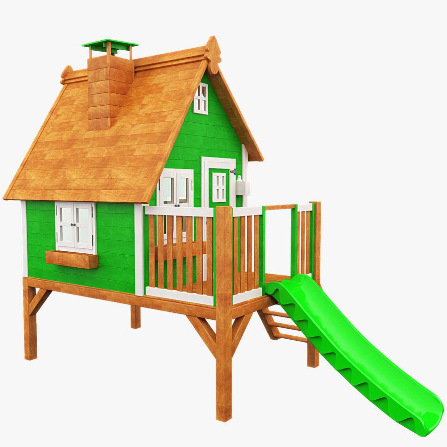 The house for children 3D Model $19 -  max  fbx - Free3D