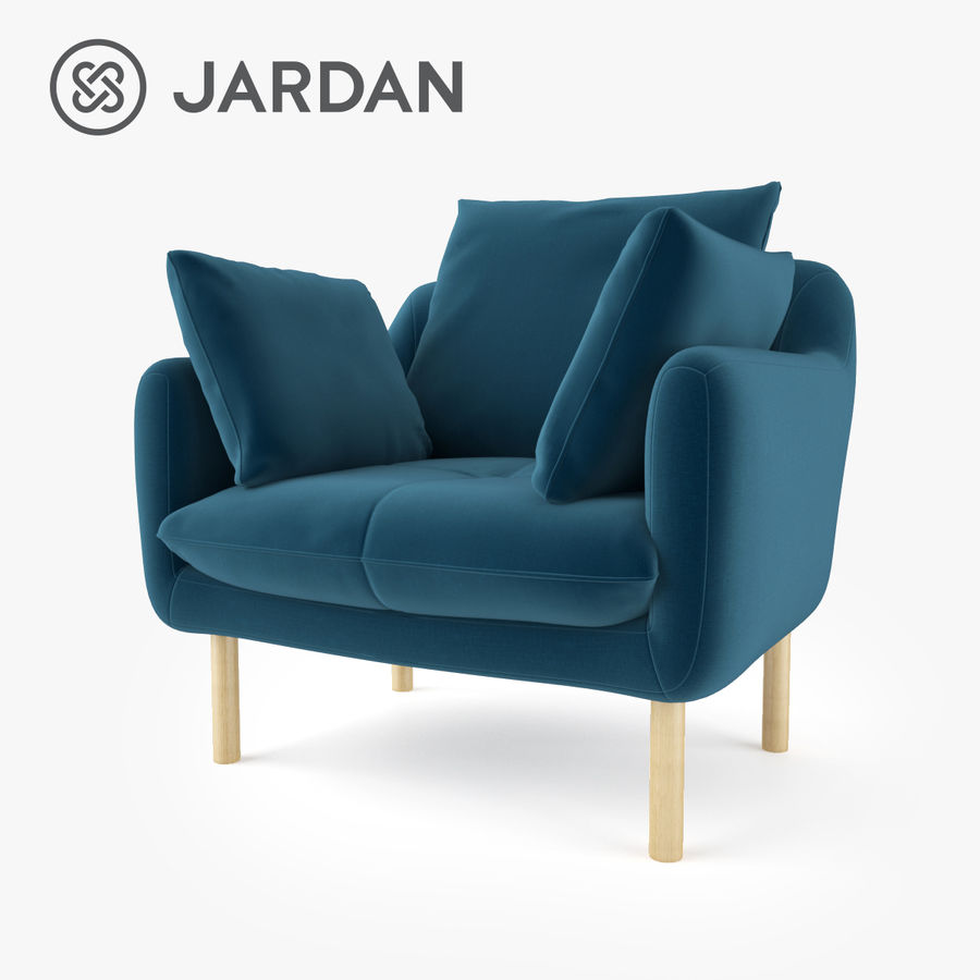 Jardan Andy Armchair royalty-free 3d model - Preview no. 1