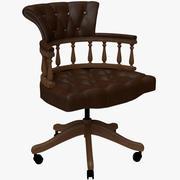 Captain Chair 3d model