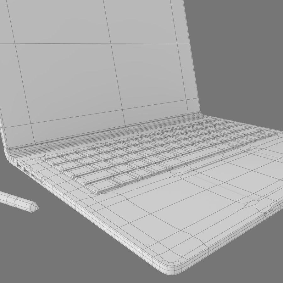 表面书 royalty-free 3d model - Preview no. 5