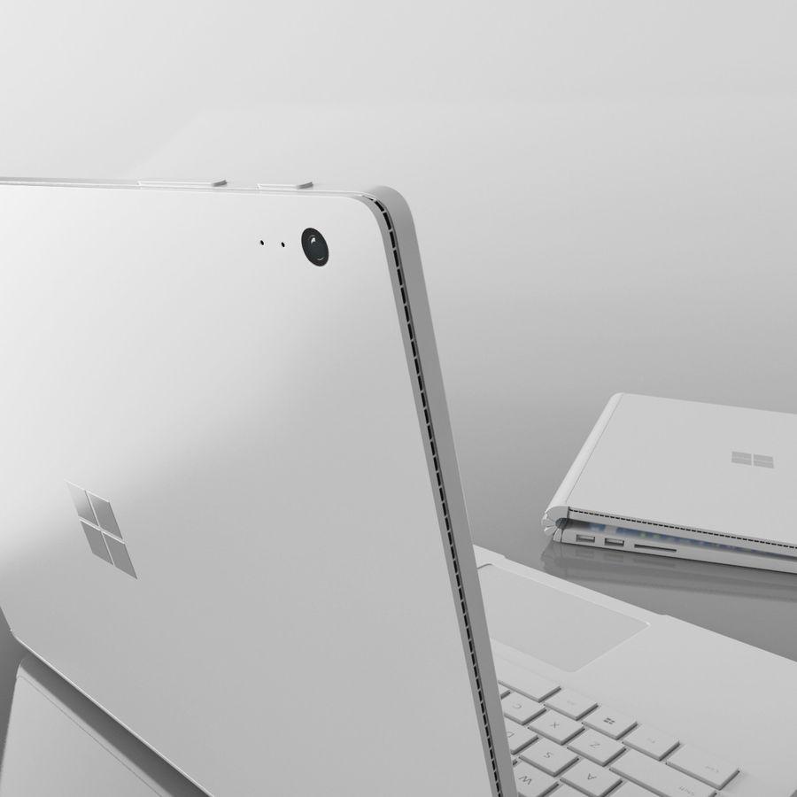 表面书 royalty-free 3d model - Preview no. 4