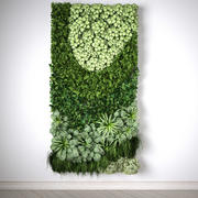 Vertical garden, 2x1 meters, MODUL ONE 3d model