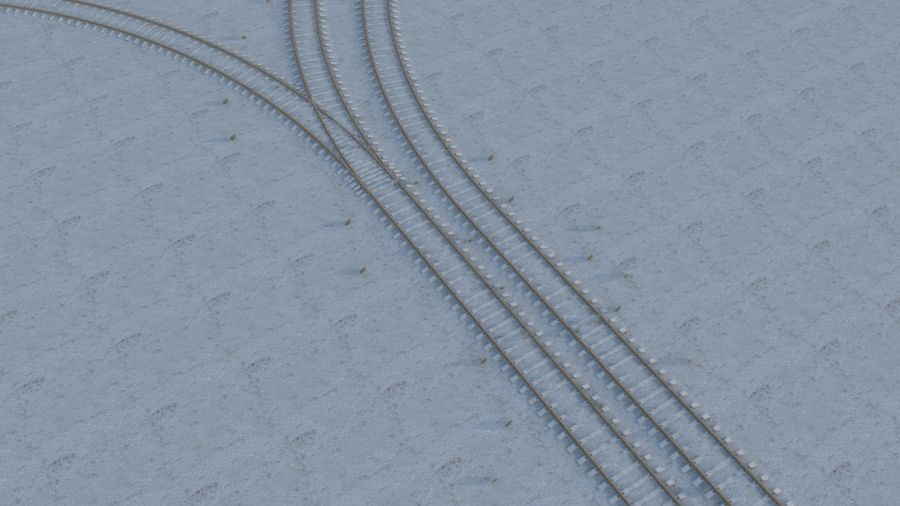 鉄道 royalty-free 3d model - Preview no. 3