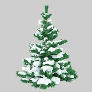 Снежная ель 3d model