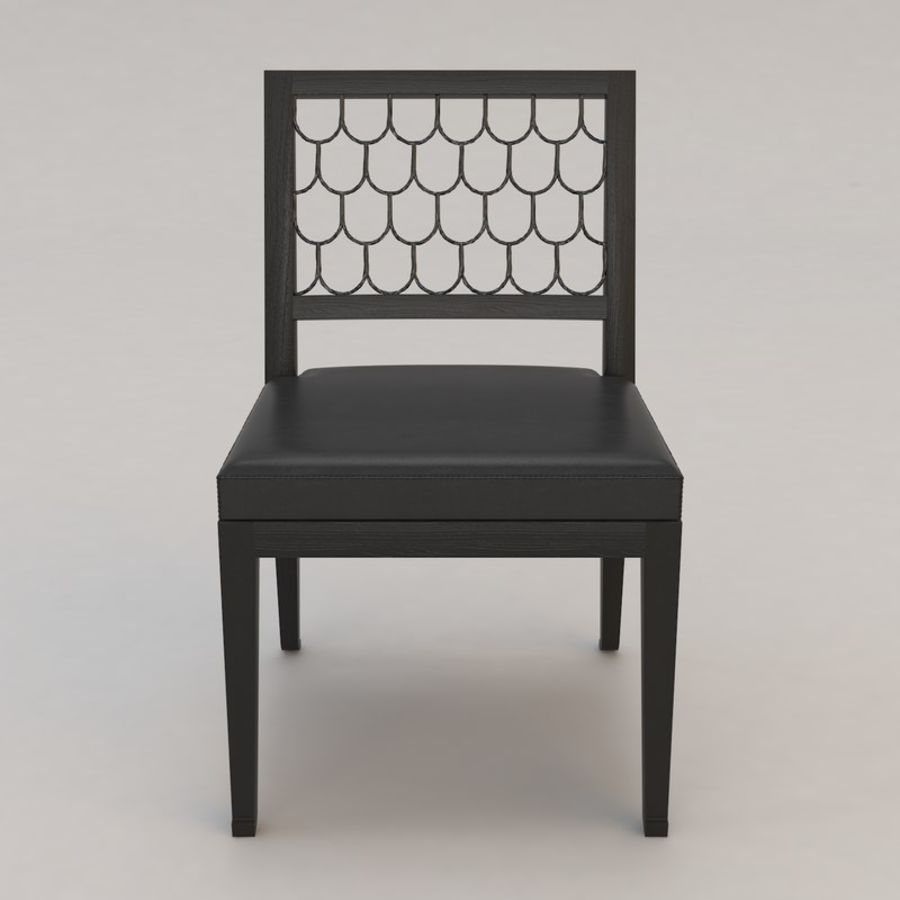 Maritime Chair By Christian Liaigre 3d Model 20 Max