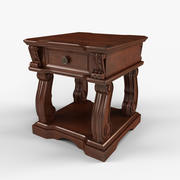 Alymere End Table 3d model