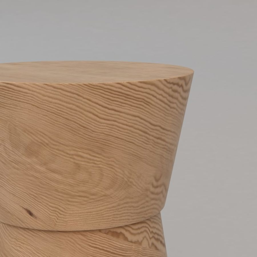 Anquilin Side Table by Christian Liaigre royalty-free 3d model - Preview no. 5
