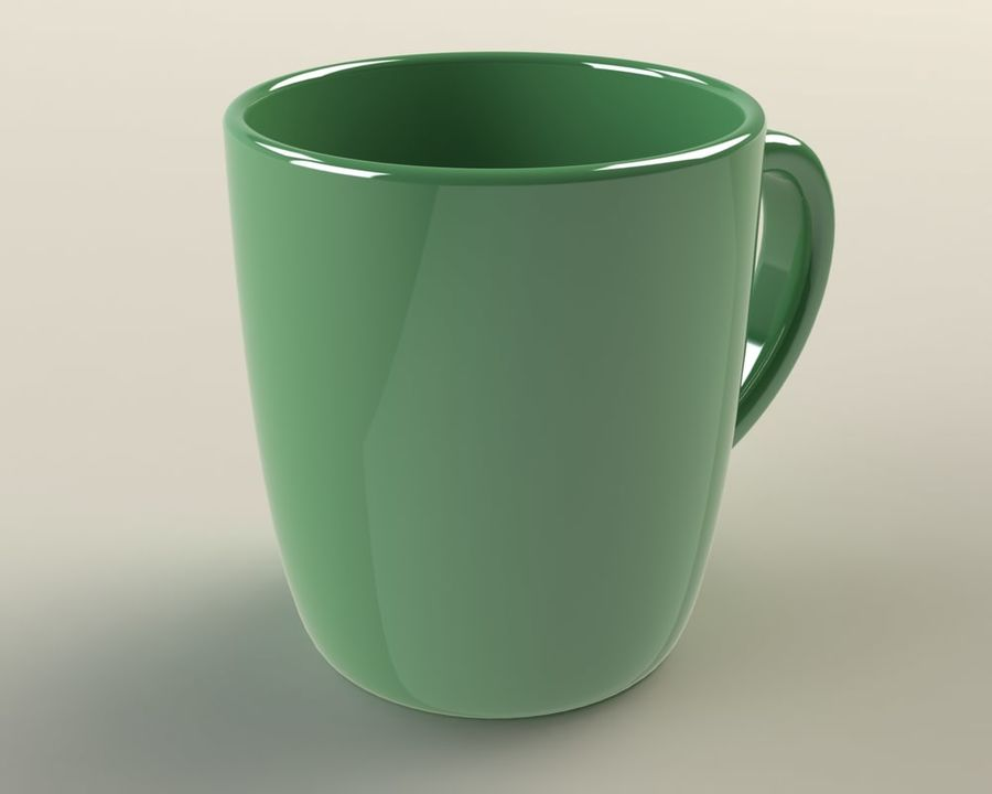 Glass royalty-free 3d model - Preview no. 3