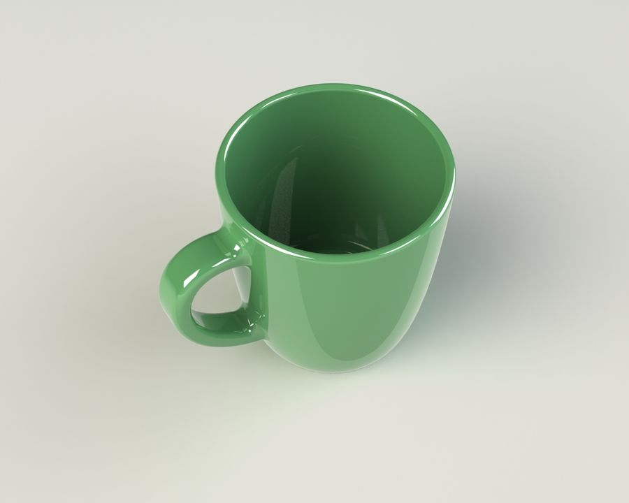 Glass royalty-free 3d model - Preview no. 4