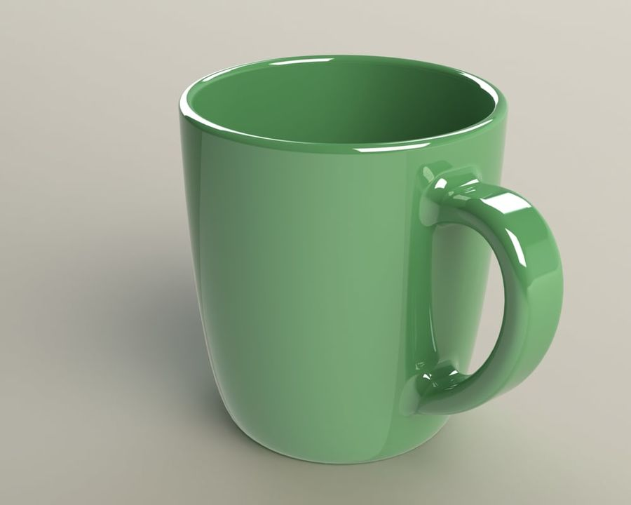 Glass royalty-free 3d model - Preview no. 1