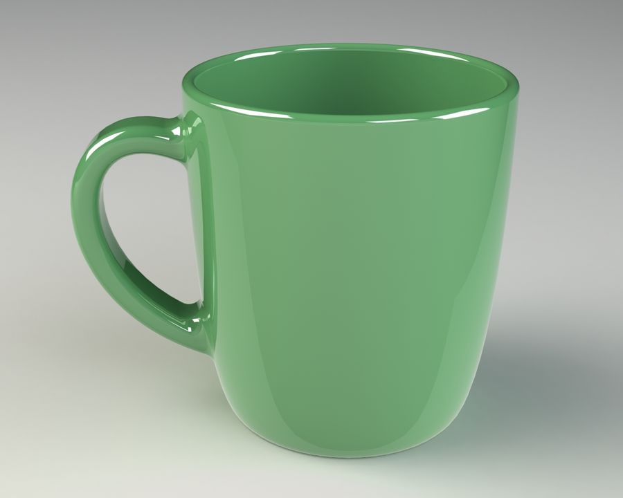 Glass royalty-free 3d model - Preview no. 2