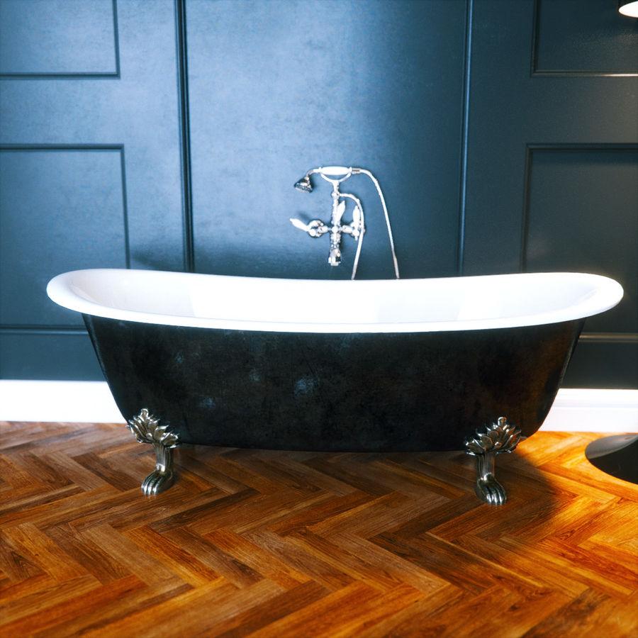 Photorealistic Classic Bathtub Corona FStorm 3D Model $15 - .obj ...