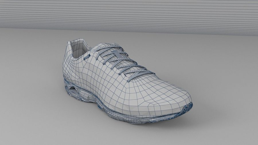 Sport Shoes royalty-free 3d model - Preview no. 5