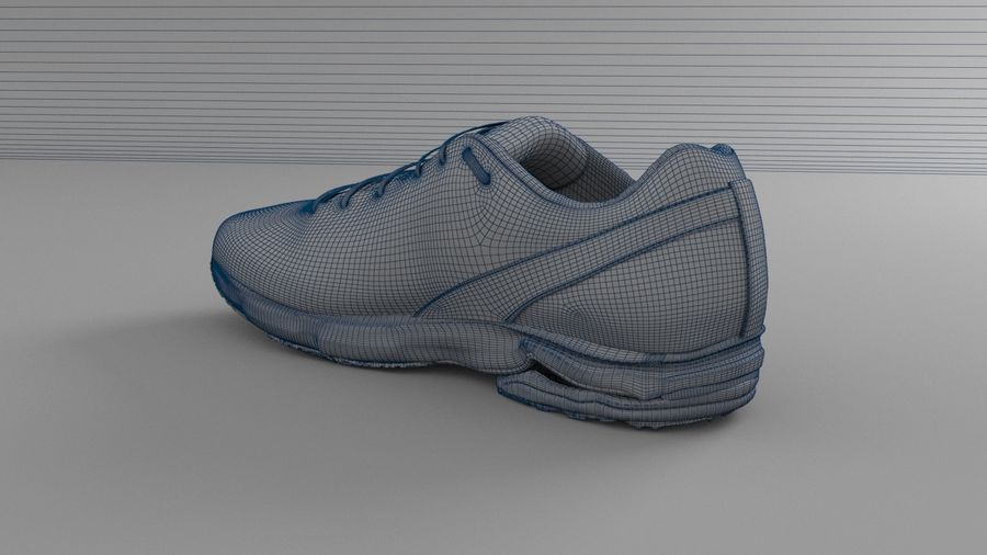 Sport Shoes royalty-free 3d model - Preview no. 14