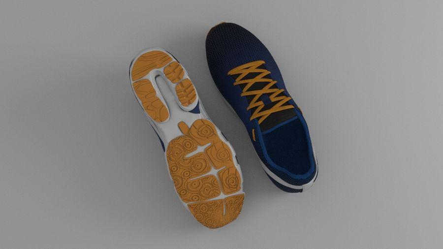 Sport Shoes royalty-free 3d model - Preview no. 15