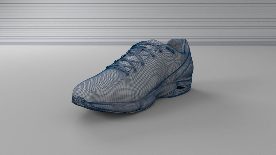 Sport Shoes royalty-free 3d model - Preview no. 12