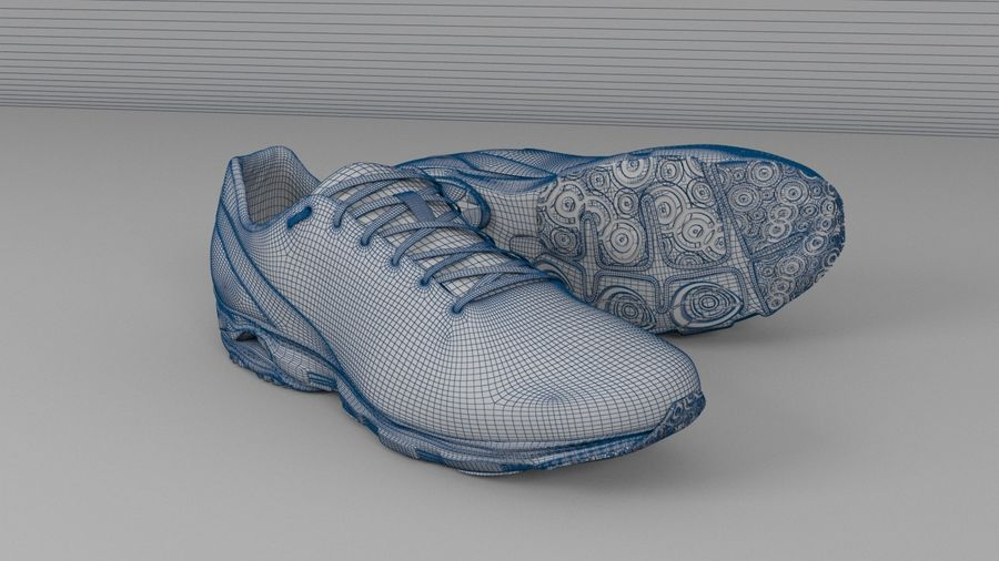 Sport Shoes royalty-free 3d model - Preview no. 4
