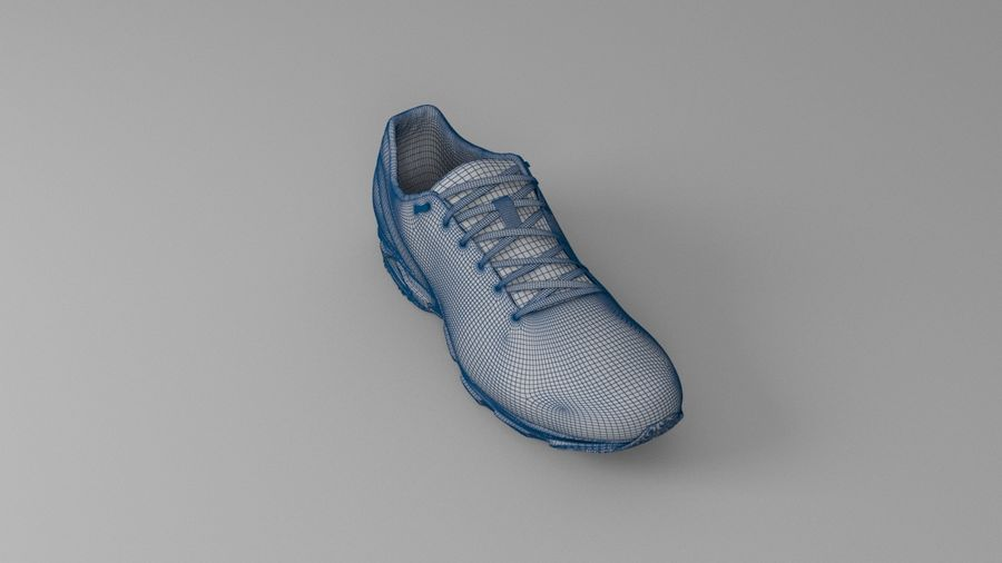 Sport Shoes royalty-free 3d model - Preview no. 10