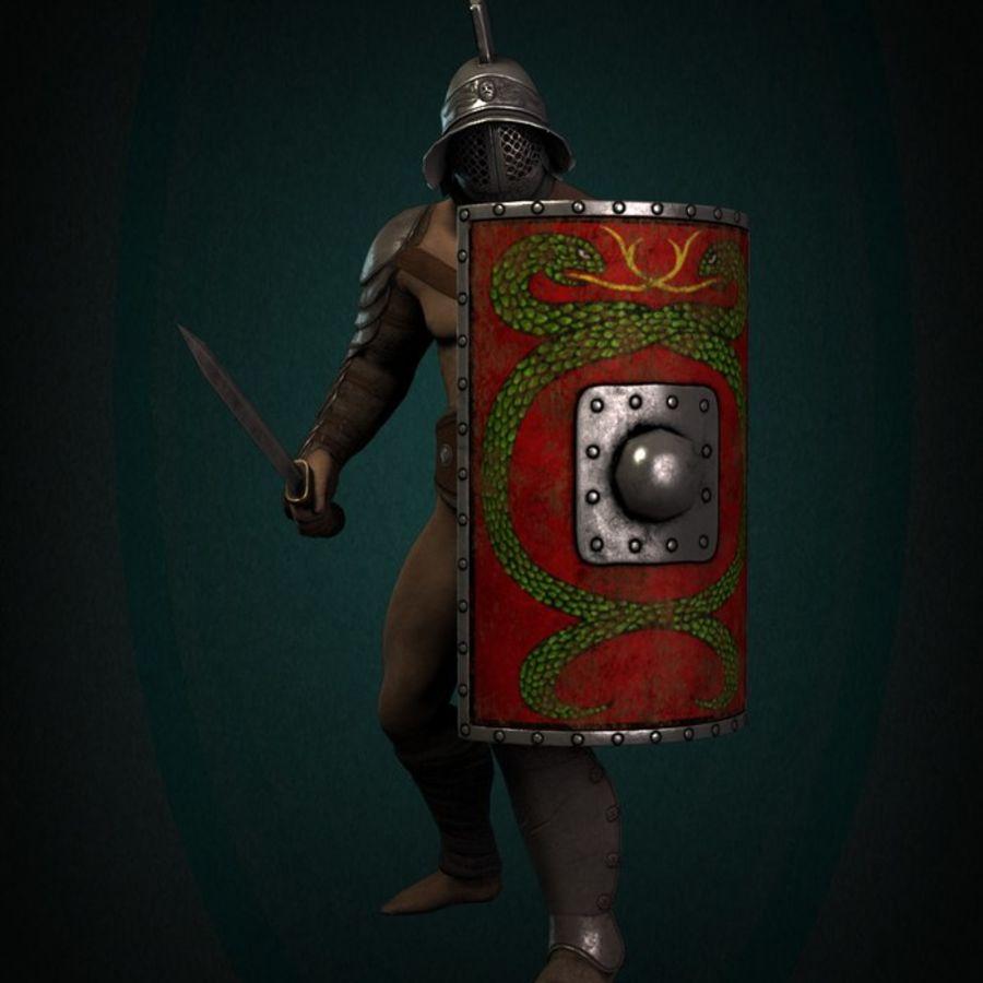 Gladiador Guerreiro royalty-free 3d model - Preview no. 5