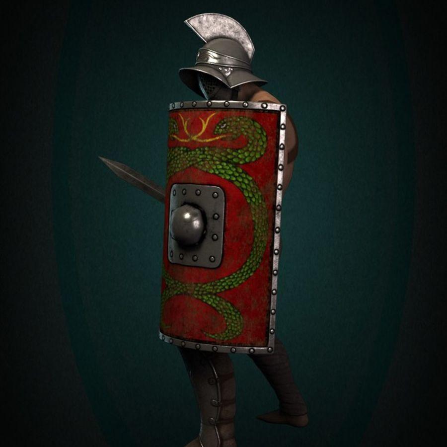 Gladiador Guerreiro royalty-free 3d model - Preview no. 7